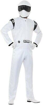 Men's Top Gear The Stig Fancy Dress Costume Stag Theme Night Disguise Fun Do (Stig Kostüme)
