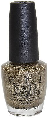 OPI All Sparkly & Gold HL E13 Nail Lacquer Polish 15ml Christmas Gift US Seller ()