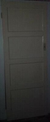 Victorian Interior Door Four 4 Panel * 35mm Internal Real Wood Original