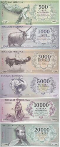 Hungary Hajdunanasi - 500 1000 2000 5000 10000 20000 Korona 2017 UNC local 2021