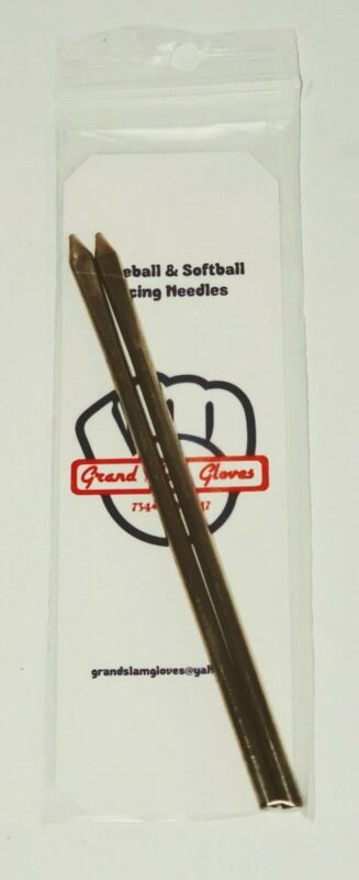 Rawlings Baseball & Softball Glove Leather Lacing Needles ⚾️5 inch  ⚾2 pack ⚾New
