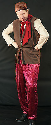Snow White-Sneezy-Bashful-Happy-Sleepy-Grumpy DWARF/GNOME Fancy Dress Costume](Grumpy Dwarf Costume)