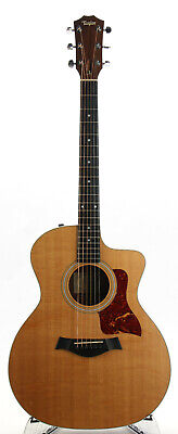 Taylor 214ce Acoustic Electric Guitar - Koa Back and Sides - Body Delamination