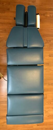 Omni chiropractic table pad cushion set - Light Blue (bluestone)