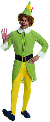 Buddy The Elf Costume Xl (Buddy the Elf Movie Deluxe Adult Christmas Costume Size)