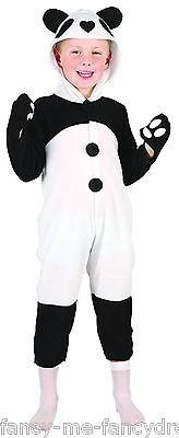 Mädchen Jungen Baby Kleinkind Pandabär Animal Kostüm Kleid Outfit 2-3 j