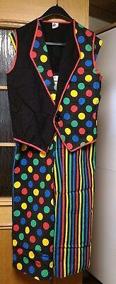 tt  (Komplettes Clown Kostüm)