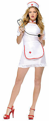 Sexy Nurse Outfit Uniform Costume for Cosplay Halloween Party Nightingale NEW