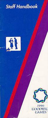 1990 Goodwill Games Staff Handbook