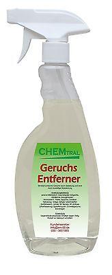 1 Liter Geruchsentferner Geruchsvernichter Geruchskiller mit Sprühaufsatz