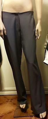 pantaloni donna grigi L 46 48 dritti business saldi catalogo liu jo in regalo