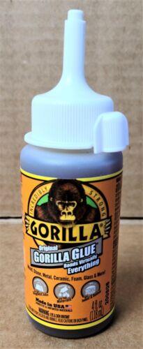 GORILLA GLUE Original Waterproof Polyurethane Glue (4 oz bottle) *FREE SHIPPING