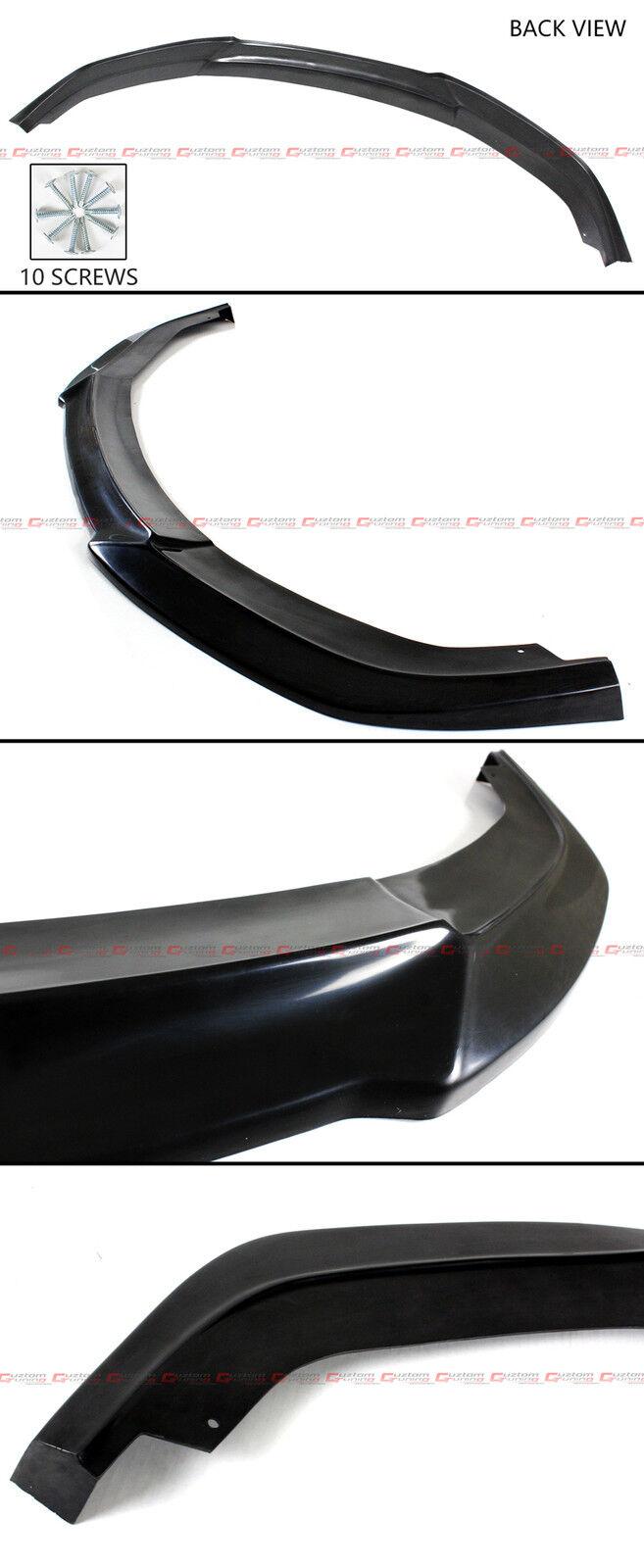 For 2016-2018 10Th Gen Honda CIVIC X FC Front Bumper Lip Splitter-JDM VER.2 UPS