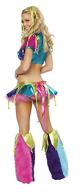 Mardi Gras Jester Costume Mardi Gras Outfit Rave Costume Complete Set JV - Mardi Gra Outfits