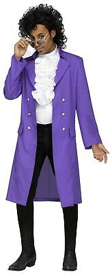 Purple Rain Costume Prince (Adult Prince Purple Rain 80s)