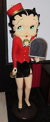 """RARE Betty Boop TRULY is LIFESIZE FIGURINE STATUE - 65"""" TALL - U.S. Seller ! !"""