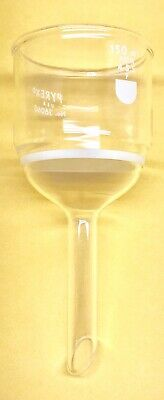 Pyrex 36060-150f Funnel Buchner Fine Fritted Disc 4-5.5 150 Ml