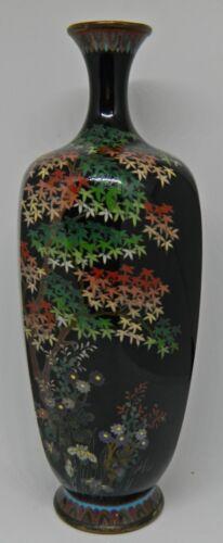 Rare cloisonne vase by Ota Tamashiro - Japan - ca. 1900 (Meiji period)