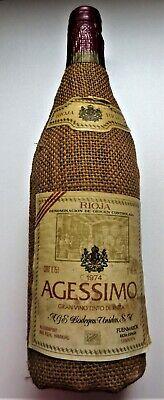 Rotwein 1974er Rioja AGESSIMO