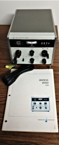 HP 4260A Universal Bridge, Inductance, Capacitance, Resistance & DQ Measurements