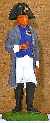Cofalu The Emperor Napoleon - Painted Plastic Toy Soldier mint 1960s