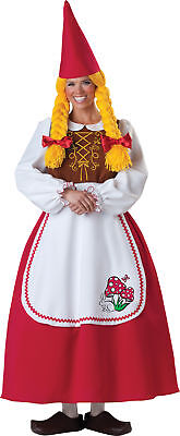 Mrs. Garden Gnome Adult Womens Costume InCharacter 1097 Dress Elf - Garden Gnome Costume Adults