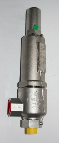 Stainless Steel Safety Pressure Relief Valve (Set 115.5 Bar) Herose Type 06850