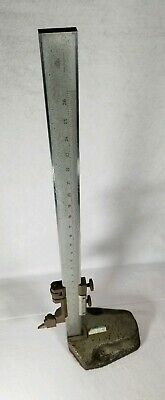 Cse 26 Machinist Vernier Height Gauge Made In Germany Pre Owned Look