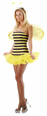 Bee Sexy Adult Women Costume Petticoat Skirt & Headpiece Fancy Dress Leg Avenue