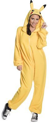 Pikachu One Piece Adult Women's Costume Yellow Halloween Fancy Dress Rubies