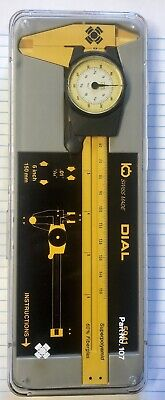 Swiss Made Kwb Dial Caliper No 5941 Inspection Tool-6 Inch 150mm New In Case