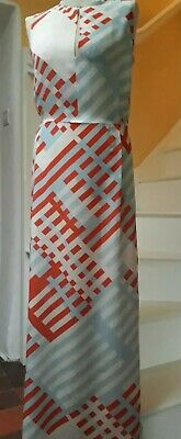 Iceberg  Pure Silk Maxi Dress Size 12