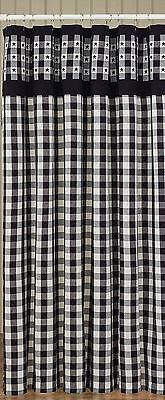 Shower Curtain - Bathroom - Checkerboard Illustrious by Greensward Designs