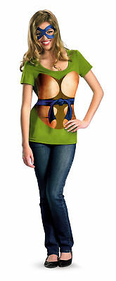 Leonardo Alternative T-Shirt Adult Womens Costume Teenage Mutant Ninja Turtles