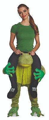 Mottoland 2844 - Huckepack Hose Frosch, Tierkostüm für Erwachsene