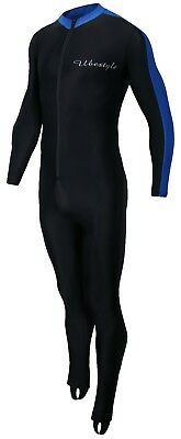 Lycra Full Body Sports Skins Rash Guard Swimsuit - Diving Snorkeling Swimming