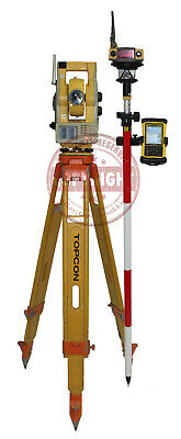 Topcon Qs5a Prismless Robotic Surveying Total Stationtrimblesokkialeica