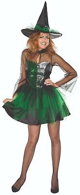 Rubies 13339 - Glitzer Hexe, Magierin, Halloween Damen Kostüm, Gr. 34 - (Rubies Glitzer Kostüme)