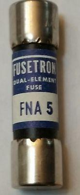 Fusetron Fna-5 Fuse 5 Amp 125 Volt