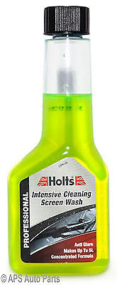 Holts One Shot Screenwash Fresh Lemon Cleaning Concentrate 125ml 5L Autocare