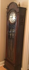 1930's Grandfather clock ... Black Forest Clock Co.Toronto