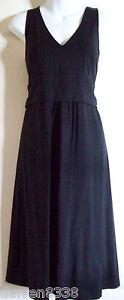 NEW~JOJO MAMAN BEBE~BLACK JERSEY MATERNITY DRESS 10