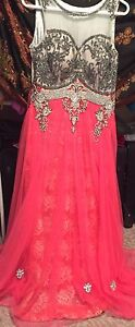 Brand new pink gown