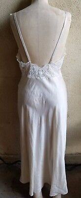 Luxury VALENTINO Silk and Lace Lingerie Gown Night Gown Low Back SZ M Luxury Silk Lingerie