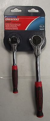 "Crescent CRW17 2 PC 1/4"" & 3/8"" Roto Ratchet Set"