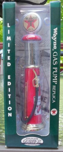 96 GEARBOX REPLICA WAYNE GAS PUMP TEXACO LTD ED COLLECTIBLE HEAVY DIE-CAST METAL