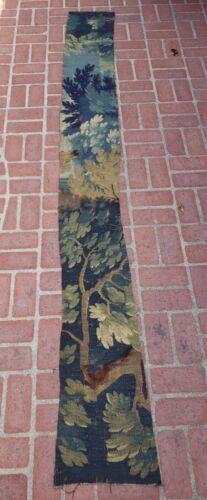 A Long Antique Verdure Tapestry Fragment
