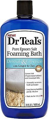 Dr Teal Detox Soak Ginger Size 34z Dr Teal Detox Ginger & Cl