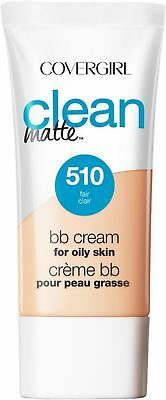 COVERGIRL Clean Matte BB Cream For Oily Skin, Fair 510, 1 oz