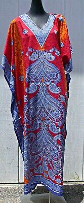 Womens Maxi Kaftan Abaya Jilbab Boho Chic Turkish style Casual One Size Dress